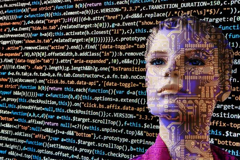 AI,人工智慧,示意圖。(取自pixabay)