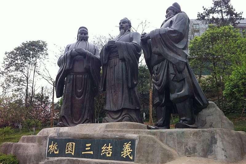 桃園三結義是假的?(圖/維基百科)