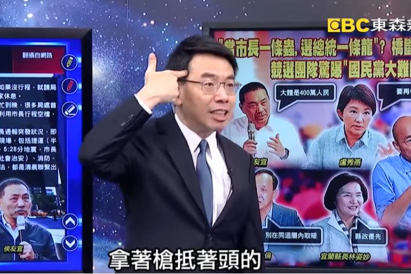 資深媒體人楊世光在自己的Youtube頻道大爆前同事劉寶傑主持的《關鍵時刻》內幕,對此黃世聰也在14日作出回應。(資料照,取自關鍵時刻Youtube)