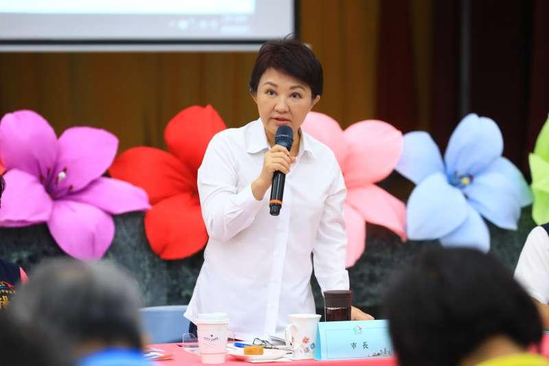 台中市政會議在神岡舉行,盧秀燕市長強調任內建置自行車道,推動低碳觀光。(圖/臺中市政府提供)