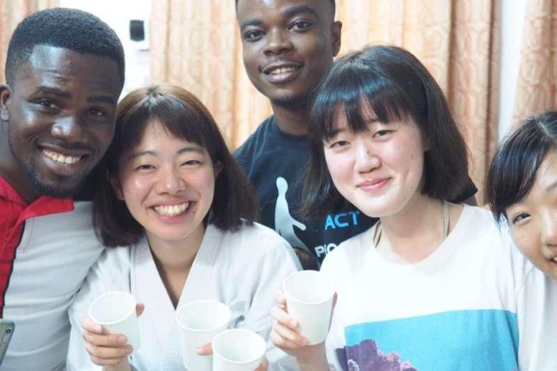 非洲留學生在日本仍是少數族群。(東京外國語大學官網)