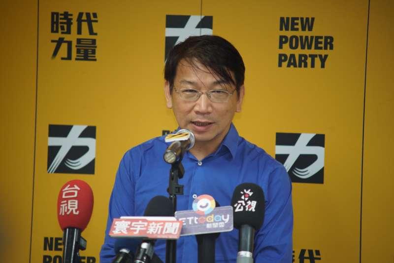 徐永明獲過半數票當選時力黨主席 向民進黨喊話:對談多少次都沒問題-風傳媒