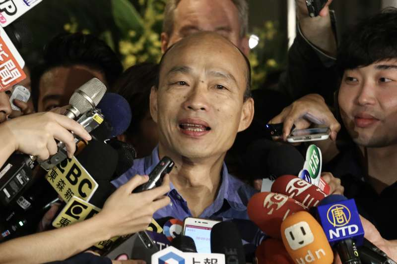 藍營自家「打韓」打到綠營也傻了!他:民進黨反得挺住韓國瑜的最後20%-風傳媒