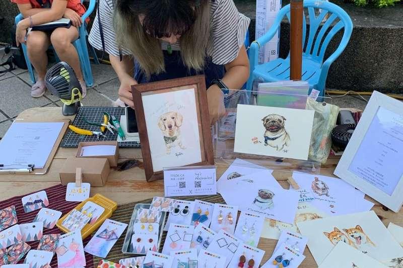 台北其實有越來越多的文創市集,等著我們去發現!(圖/abcs830807@Instagram授權提供)