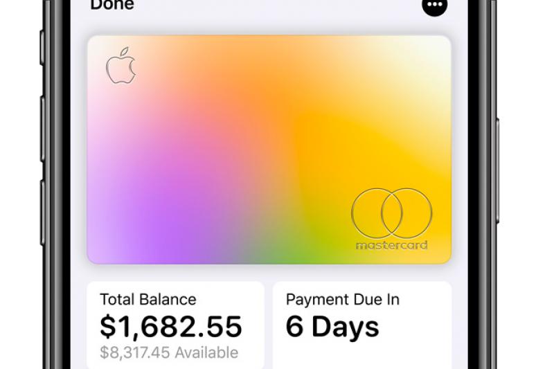 Apple Card為使用者提供財務健康報表,詳細紀錄金流。(翻攝 蘋果官網)