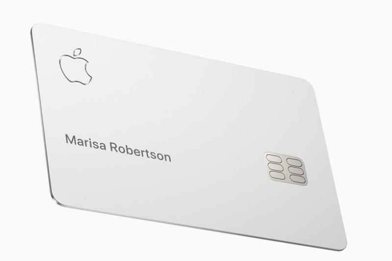 Apple Card外觀設計精美,唯使用者需費心保存。(翻攝 蘋果官網)