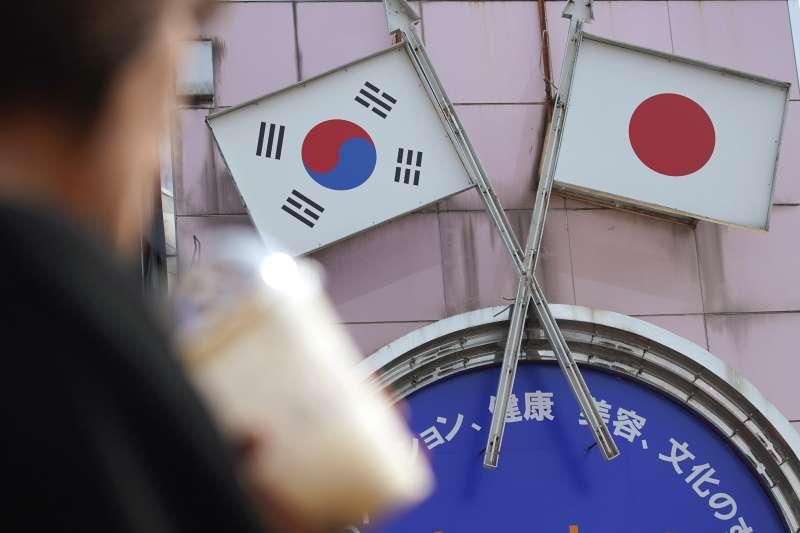 2019年,美國在東北亞兩大盟邦南韓與日本關係持續惡化(AP)