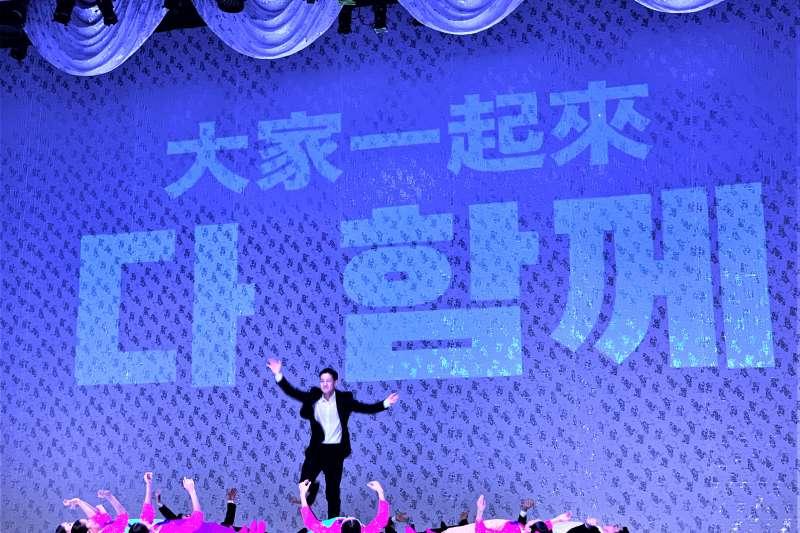 2019台北藝術節:南韓「編舞教母」安銀美作品《南韓跳,北韓舞》(簡恒宇攝)