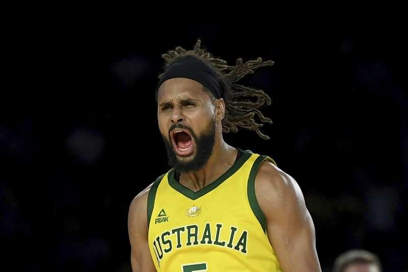 米爾斯30分帶領澳洲擊敗美國,寫下對戰首勝並中斷對手78連勝記錄。(美聯社)