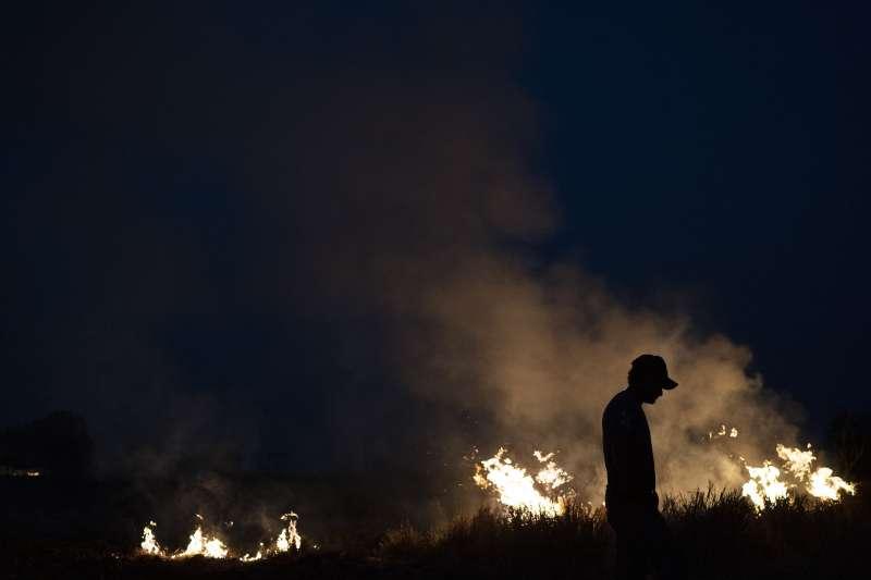 2019年8月,巴西亞馬遜雨林野火燎原,地球生態遭遇嚴重威脅(AP)