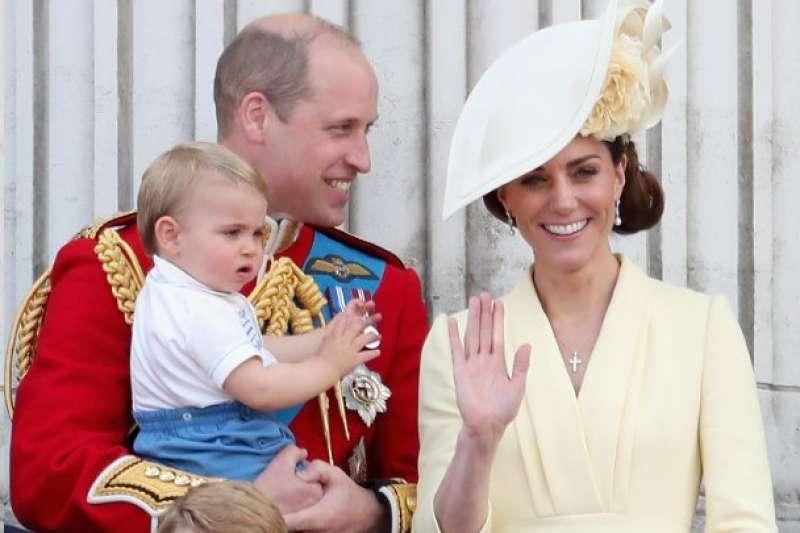 英國劍橋公爵和公爵夫人威廉與凱特和他們的三個孩子(BBC)