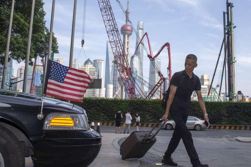 中美貿易戰,上海(AP)