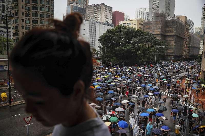 2019年8月5日反送中,香港群眾示威(AP)