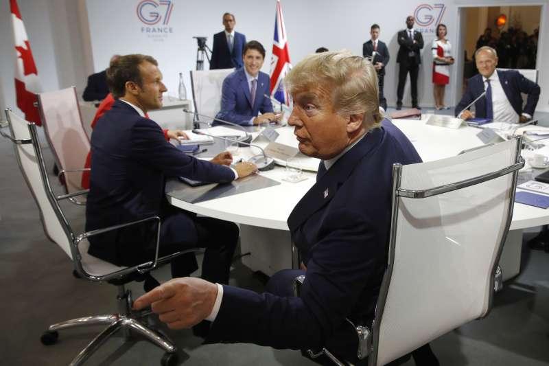 G7高峰會:美國總統川普(AP)
