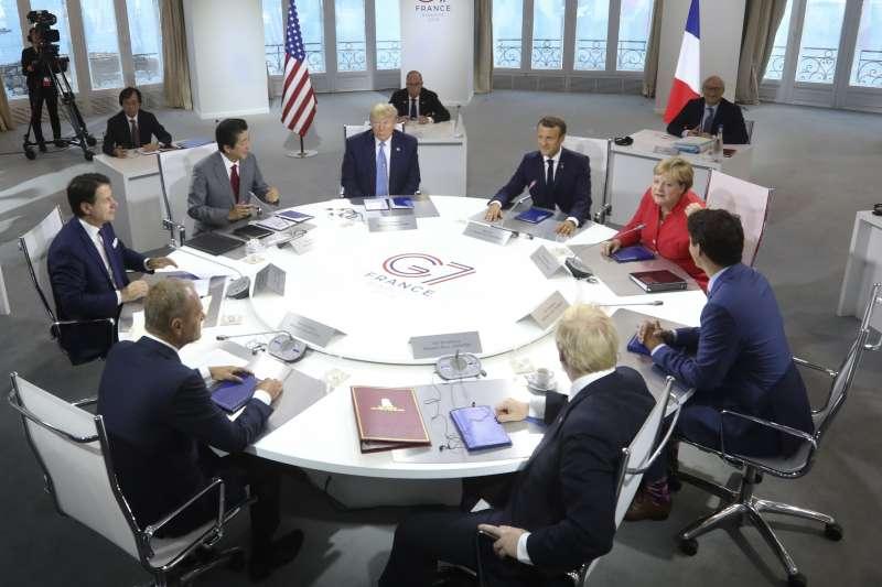 G7高峰會(AP)