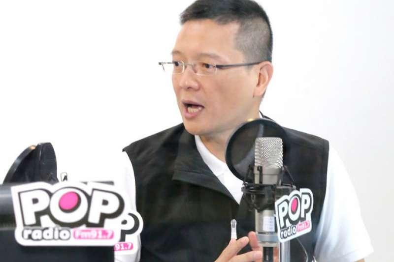 國民黨總統參選人韓國瑜競選辦公室副執行長孫大千27日表示,王金平宣稱是忠貞黨員,郭台銘是榮譽黨員,相信黨員會與國民黨站在一起。(POP Radio提供)