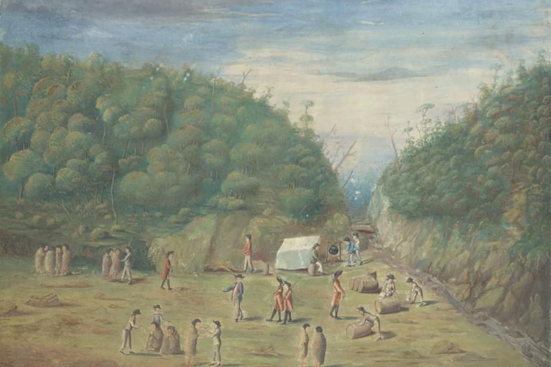 在庫克航行之前,南太平洋對歐洲人而言是個想像空間。(左岸文化提供)