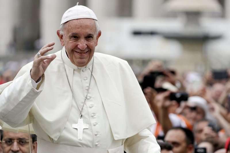 天主教對於安樂死的態度相當保留,教宗方濟各(見圖)亦曾多次呼籲世界各國停止安樂死。(資料照,美聯社)