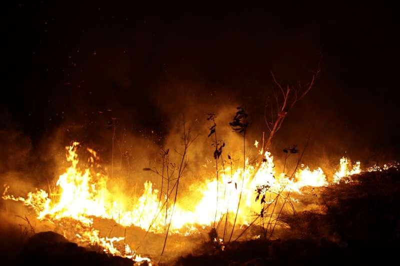 亞馬遜雨林大火延燒,而非洲中部近期也發生上萬起野火(美聯社)