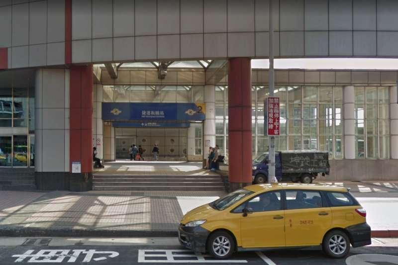 為提升能見度,新北市政府捷運局研擬將捷運「板橋站」更名為「新北市政府站」,但最後未能在公聽會上通過表決。(取自google map)