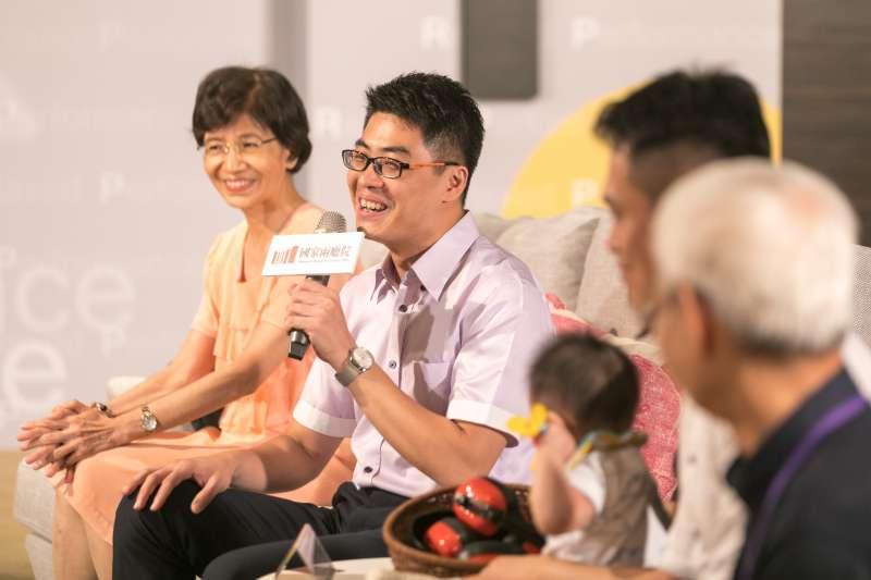 20190829-7月首度試辦「輕鬆自在場」,國家兩廳院29日舉辦記者會,拉縴人文化藝術基金會執行長林俊龍也出席。(兩廳院提供)