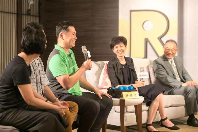 7月首度試辦「輕鬆自在場」,國家兩廳院於29日舉辦記者會,現場受邀參與輕鬆自在場觀眾分享經驗。(兩廳院提供)