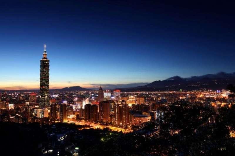 台北市成為日本最想再次住宿城市第一名。圖為台北夜景。(取自台北旅遊網臉書)