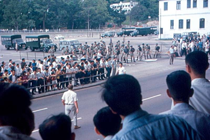 1967年香港六七暴動(Roger Wollstadt@Wikipedia / CC BY-SA 2.0)