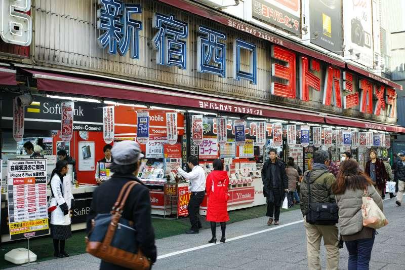 友都八喜新宿西口店門外。(圖片來源:網路)