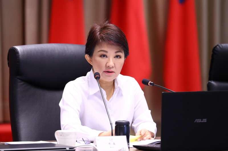 台中市市長盧秀燕表示,將每分預算發揮最大效益,並且逐步落實各項建設,打造「富市台中,新好生活」。(圖/台中市政府提供)