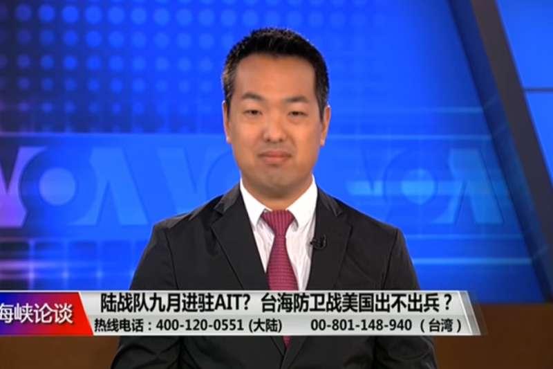 「全球台灣研究中心」研究員安大維(見圖)涉嫌收受台灣官員禮品且以假租約申請銀行貸款被捕。GTI表示,安大維6月已離職,且案件進入司法程序,沒有進一步評論。(取自自美國之音)