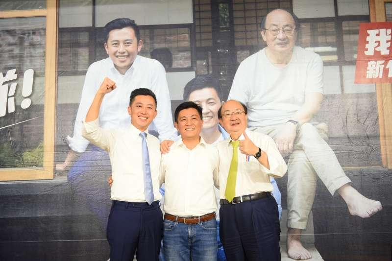 20190831-民進黨候選人鄭宏輝31日舉行競選辦公室成立茶會。(民進黨提供)
