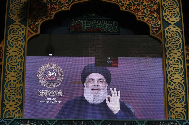 以色列與黎巴嫩真主黨交火,真主黨領袖納斯拉勒直言,以色列要為攻擊行為付出代價(AP)
