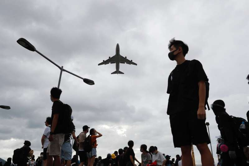 香港《國安法》通過。(美聯社)