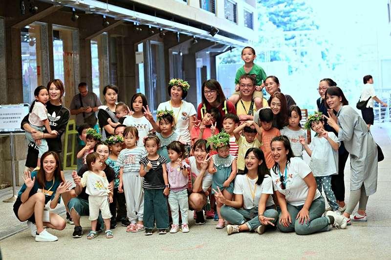 北市原民員會近幾年投身原住民幼兒的文化教育。(主辦單位提供)