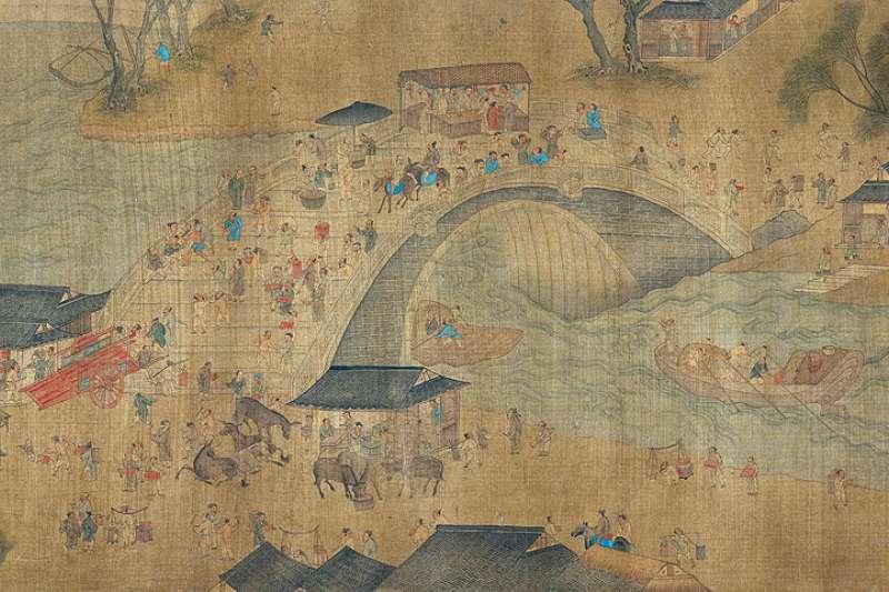 張擇端的《清明上河圖》記錄了北宋的繁華街景,被古今中外的鑑賞家推崇至極,卻在民間流落許久......(圖/國立故宮博物院)