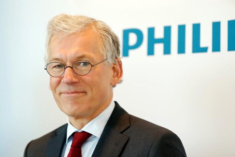 飛利浦現任行政總裁 Frans Van Houten。 圖片來源:路透社