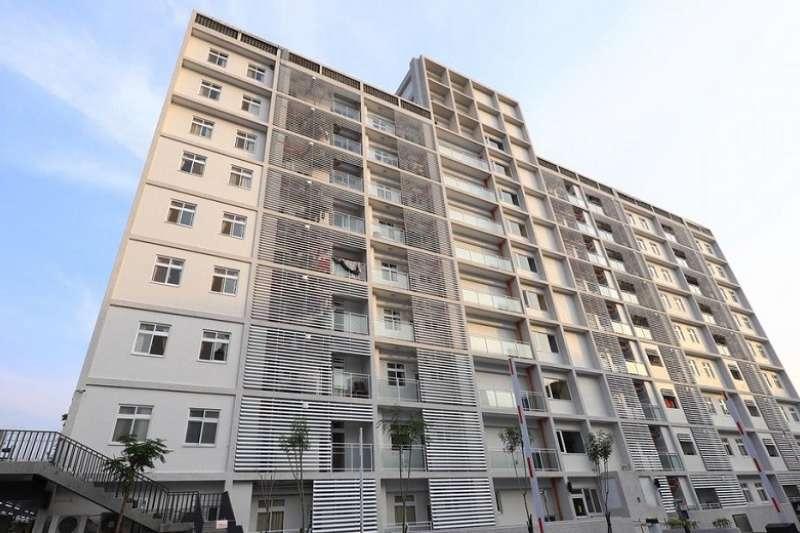 圖為台中市政府社會住宅(大里區光正段,台中市政府)