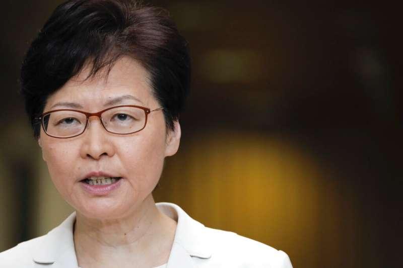 香港民主黨議員涂謹申22日表示,關於陳同佳案情,香港行政長官林鄭月娥不應該只透過麥克風與台對話,此舉無助彰顯司法公義。(資料照,美聯社)