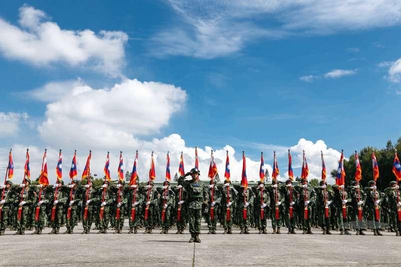 20190905-國軍「聯合兵種營」5日在陸軍裝甲586旅編成。(取自《軍聞社》)