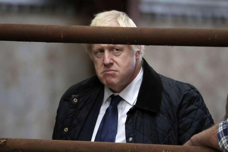 2019年9月,英國深陷脫歐亂局,首相強森(Boris Johnson)無技可施(AP)