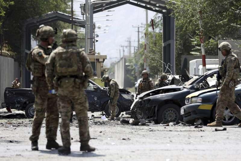 2019年,阿富汗戰爭進入第18年,和平遙遙無期,恐怖攻擊頻頻發生(AP)