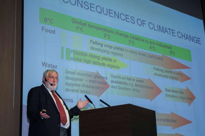 20190908-奧地利歐洲論壇主席法蘭茲.費雪勒於「台灣金融研訓院」舉行專題演講。(蔡親傑攝)