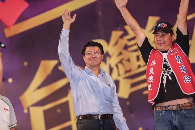 「電信業者說韓國瑜造勢活動有60萬人」 謝龍介:離開舞台1公里手機才有訊號-風傳媒