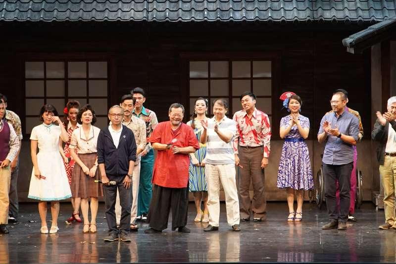 《再會吧 北投》口碑極佳,近日已第3次宣布加演,是台灣近年來少有的盛況。(綠光劇團提供)