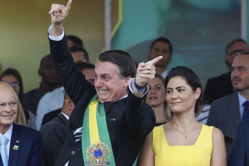 亞馬遜雨林大火:巴西總統博索納羅靠農民支持而勝選(AP)