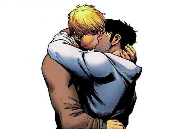 漫威作品出現同性接吻畫面,遭到立場反同的巴西里約熱內盧市長克里維拉下令封書(翻攝網路)