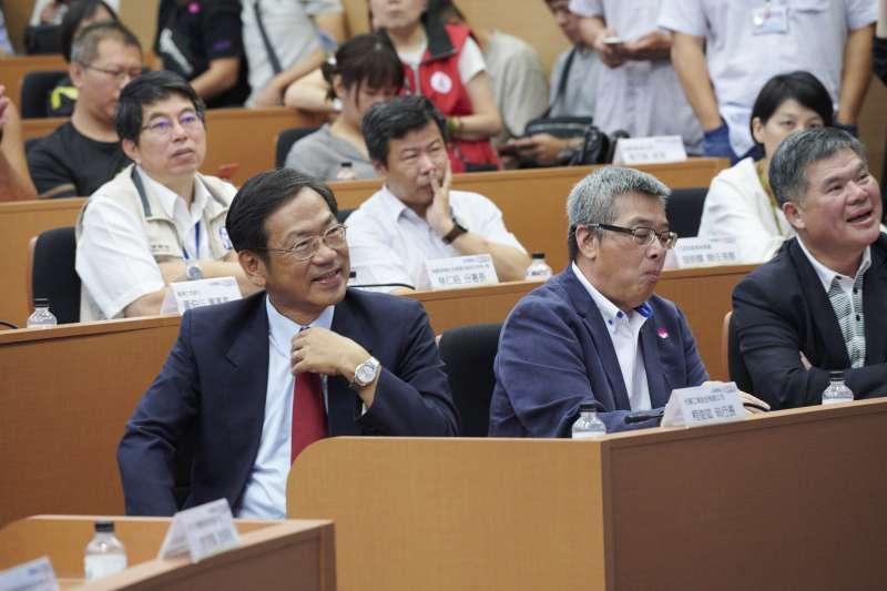 光陽CEO柯俊斌表示,機車是台灣人最重要的交通工具,大家在討論產業轉型,也要不忘照顧廣大機車從業人員的生計,並顧及民眾的購車負擔。(圖/光陽機車)