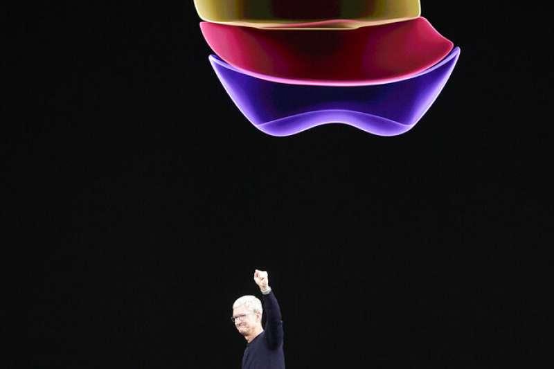 對於外界傳出2023年到2025年期間推出蘋果電動車,蘋果方面不置可否。(資料照,美聯社)