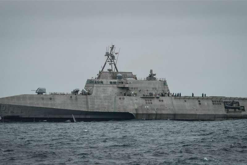 美國海軍近日在印太地區部署「吉佛茲號」近岸戰鬥艦(取自www.navy.mil)
